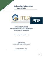 Manual de Prcticas Estudio Del Trabajo Vers Split Cabina ITESG