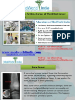 Best Cancer Hospitals of India for Advanced Bone Cancer Treatment