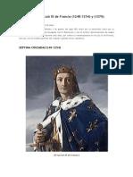 Las Cruzadas de Luis IX de Francia