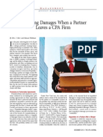 Measuring Damages When a Partner