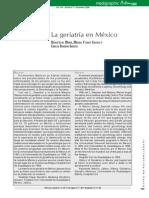 Historia de La Griatria en Mexico