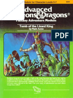 AD&D 1.0 I2 Level 5-7 Adventure - Tomb of the Lizard King