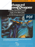AD&D 1.0 I4 Level 6-8 Adventure - Oasis of the White Palm