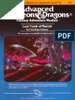 AD&D 1.0 I5 Level 7-9 Adventure - Lost Tomb of Martek
