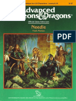 AD&D 1.0 I11 Level 8-10 Adventure - Needle