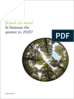Biomass and Knock on Wood-Deloitte