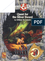 D&D 1.0 9342 Level 2-3 Adventure - Quest for the Silver Sword