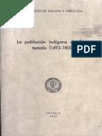 Solano Francisco - La Poblacion Indigena en Guatemala