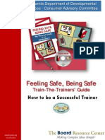 Feeling Safe Being Safe Train the Trainers