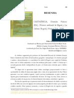 RESENHA CASTAÑEDA,  Germán  Palacio  (Ed.).  Historia  ambiental de Bogotá  y  La  Sabana- Fábio Liberato de Faria Tavares