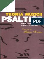 (Pr. Lec. Dr. Stelian Ionascu) Teoria Muzicii Psaltice