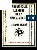 Manuscrisele Eseniene de La Marea Moarta de (Athanase Negoita)