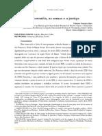 Os coronéis, as armas e a justiça - Valmiro Ferreira Silva