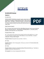 Steve HarveyFull Transcript of That Steve Harvey Interview You Missed During President Obama's Press Conference Transcript 12.20.2013
