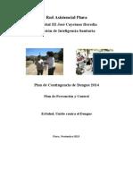 Plan de promoción y prevención de dengue  2014