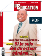"""Numéro spécial """"Afrique Education"""""""
