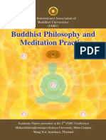 The Minds I in Meditation - Early Pali Buddhadhamma and Transcendental Phenomenology in Mutual Reflection
