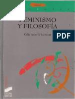 Celia Amorós - Feminismo y filosofía