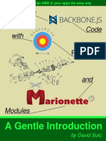 Structuring Backbone With Requirejs and Marionette