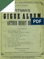 itman s Gigue Album Cover