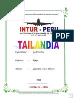 GASTRONOMIA TAILANDESA