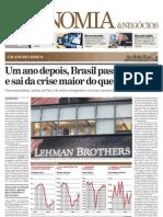 Brasil sai da crise mais forte