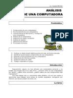 ANÁLISIS DE UNA COMPUTADORA