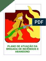 Plano de atuação da Brigada de Incêndio