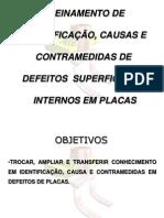 Slide de Treinamento de Defeitos Em Placa