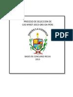 Bases Convocatoria Cas 007 2013 Grs Oa Pers 1
