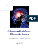 Cellphones & Brain Tumors Collaborative Report