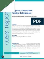 JOHCD- Pregnancy Associated Gingival Enlargement