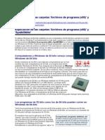 Explicación de las carpetas 'Archivos de programa (x86)' y 'SysWOW64'.doc