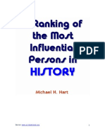 Michael H. Hart - A Ranking of the Most Influential Persons in History