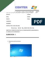 Trabajo de Windows