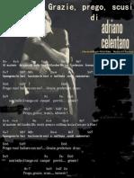 Adriano Celentano - Grazie, Prego Scusi