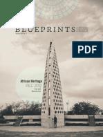 National Buliding Museum Blueprints publication redesign