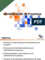 Administracion de Proyectos 30-04-07 Hand-Outs