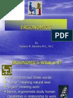 Ergonomics PP Presentation