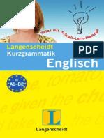 Kurzgrammatik Englisch