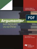 Argumenter son mémoire ou sa thèse