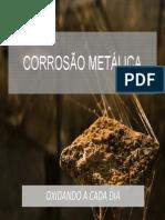 corrosão e oxidação