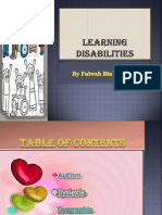 learning disabilities project