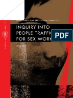 Victorian Government Inquiry Into People Trafficking for Sex Work