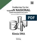 Soal Prediksi UN Kimia SMA 2013