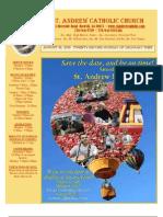 August 30, 2009 Bulletin