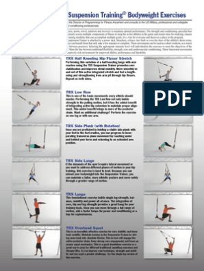 Exercice Trx Strength Training Physical Exercise