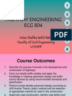 highway engineering lecturer notes - Chapter 1&2