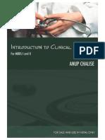 Intro to Clinical Medicine