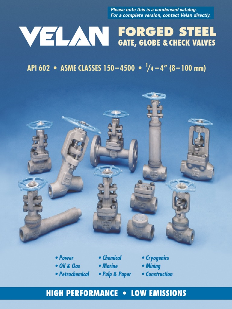 Velan Valve Katalog